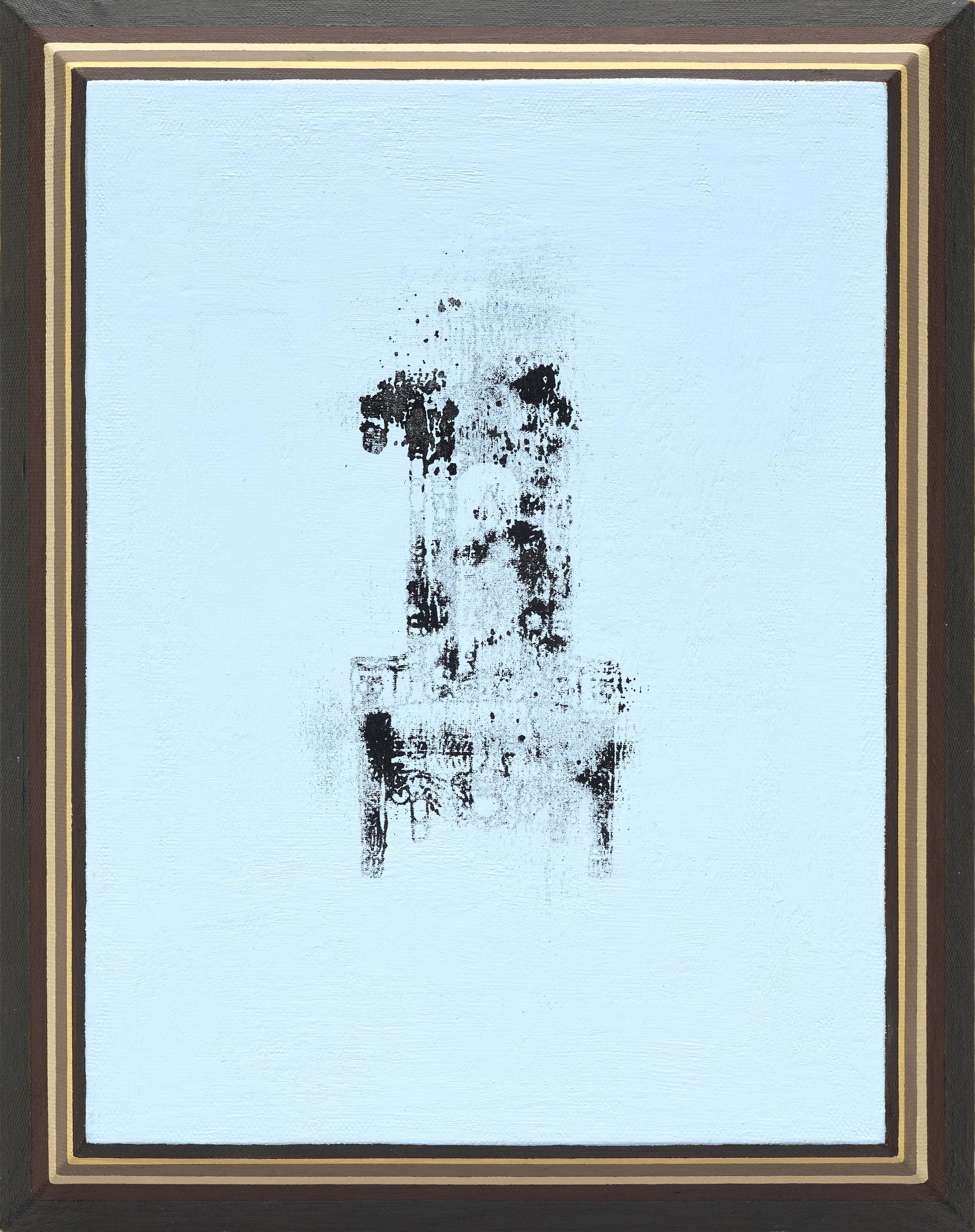 """Throne"" / 2020 / 12inx9in / acrylic on canvas"