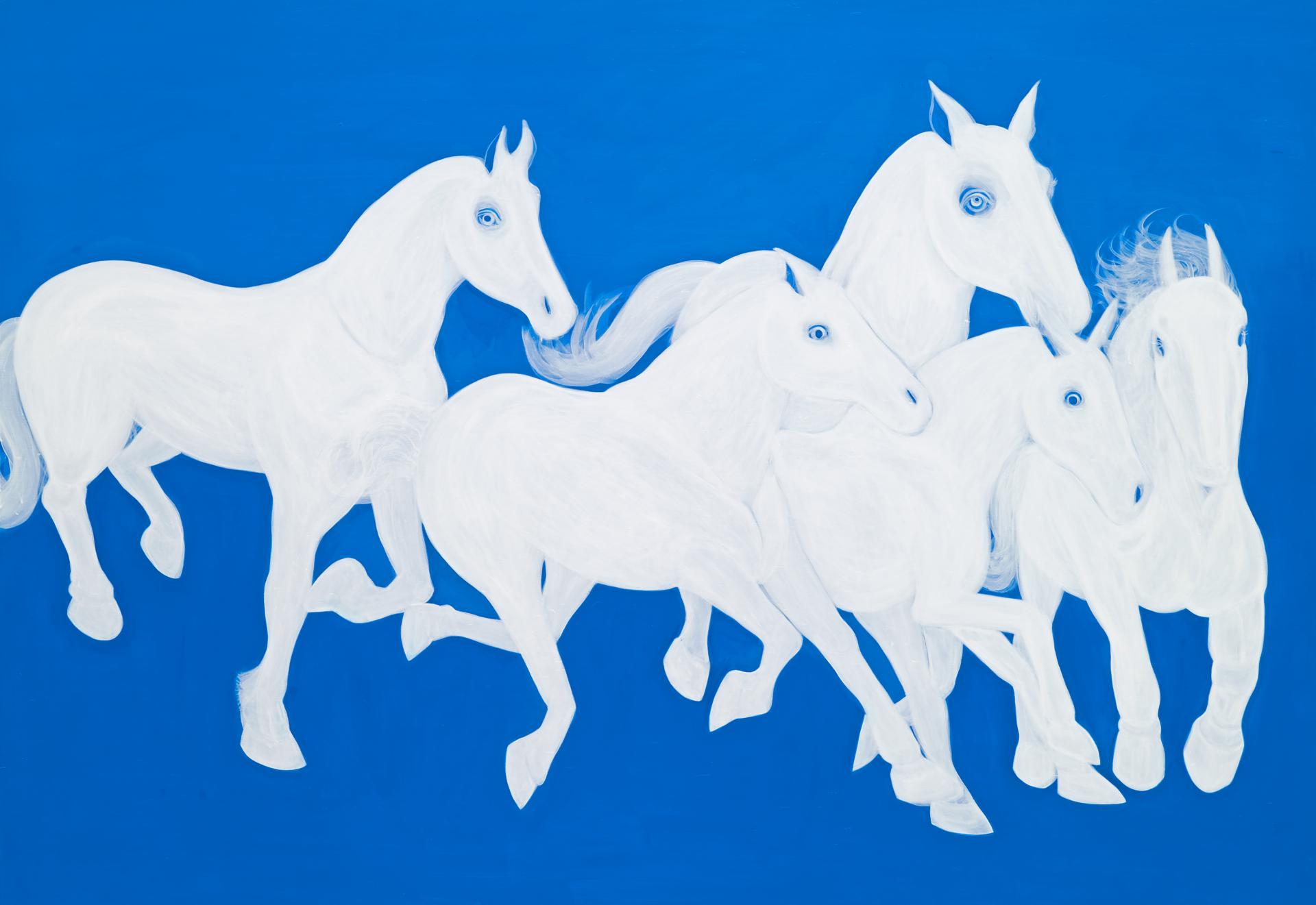 """""""동주"""" / acrylic on canvas  /162 X 112(cm)"""