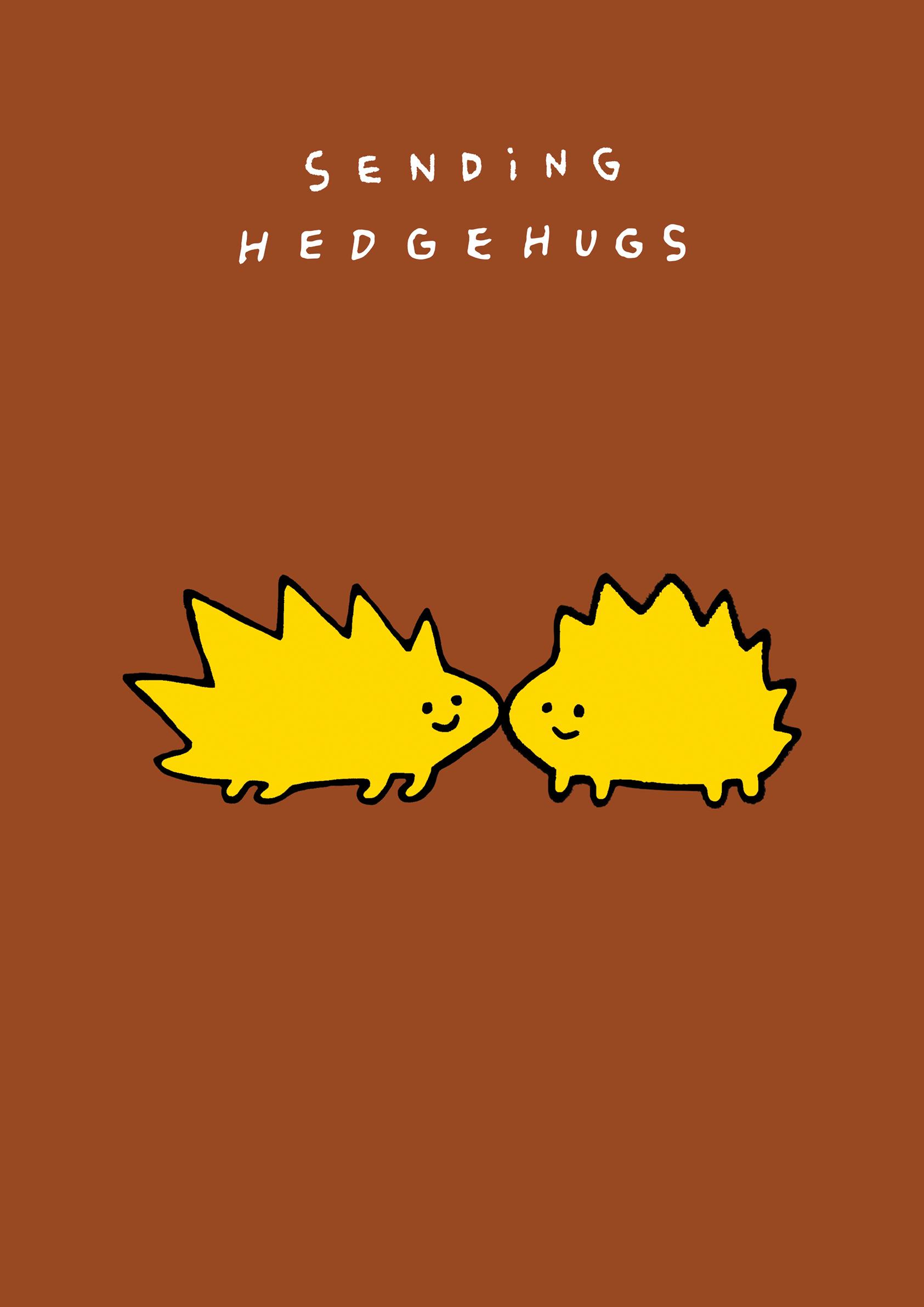 """Hedge Hugs"" / 594mm*841mm / Digital Drawing / 2020"