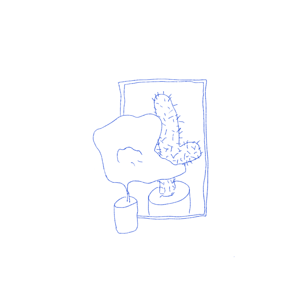 """Love Yourself"" / Digital Drawing / 2020"