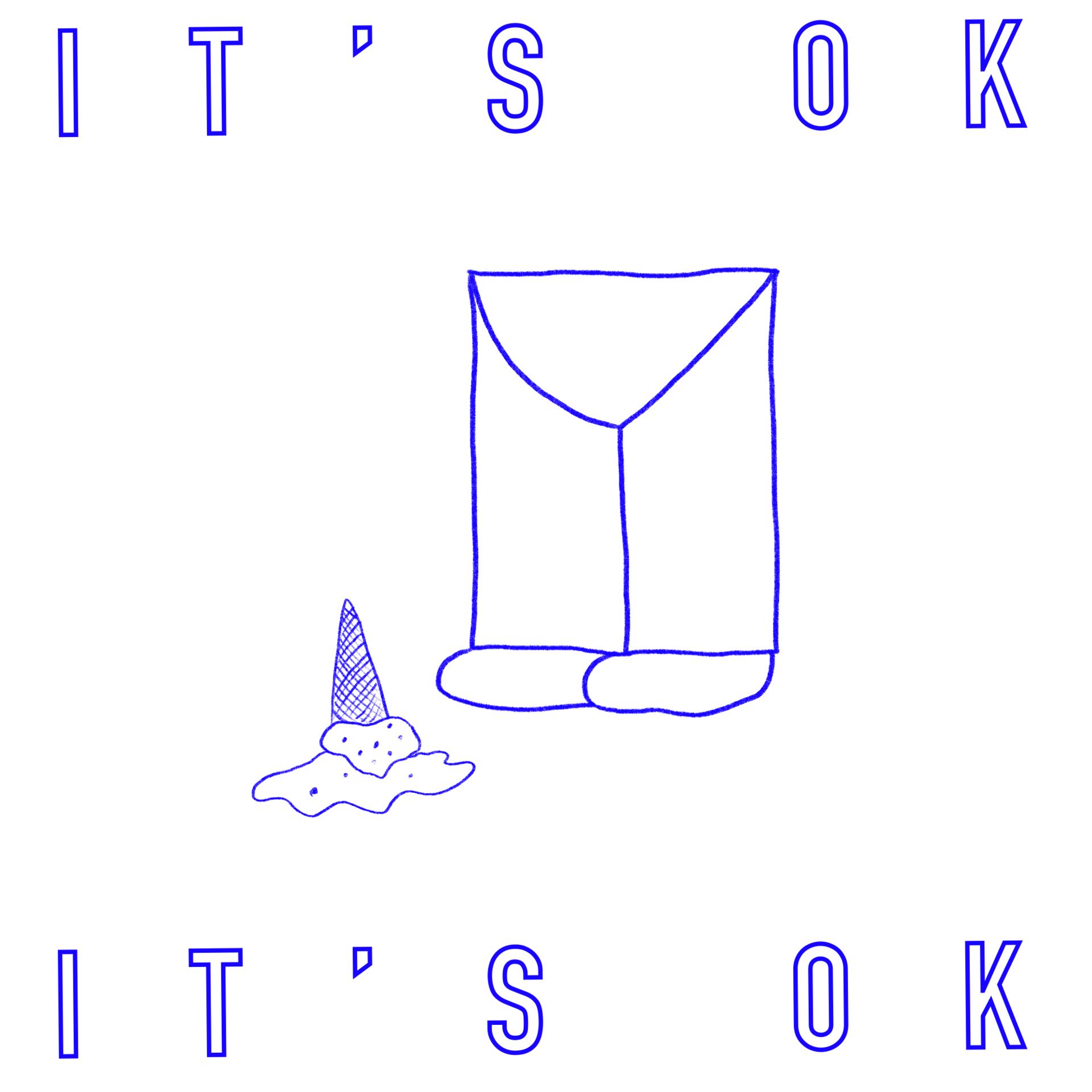 """It's Okay"" / Digital Drawing / 2020"