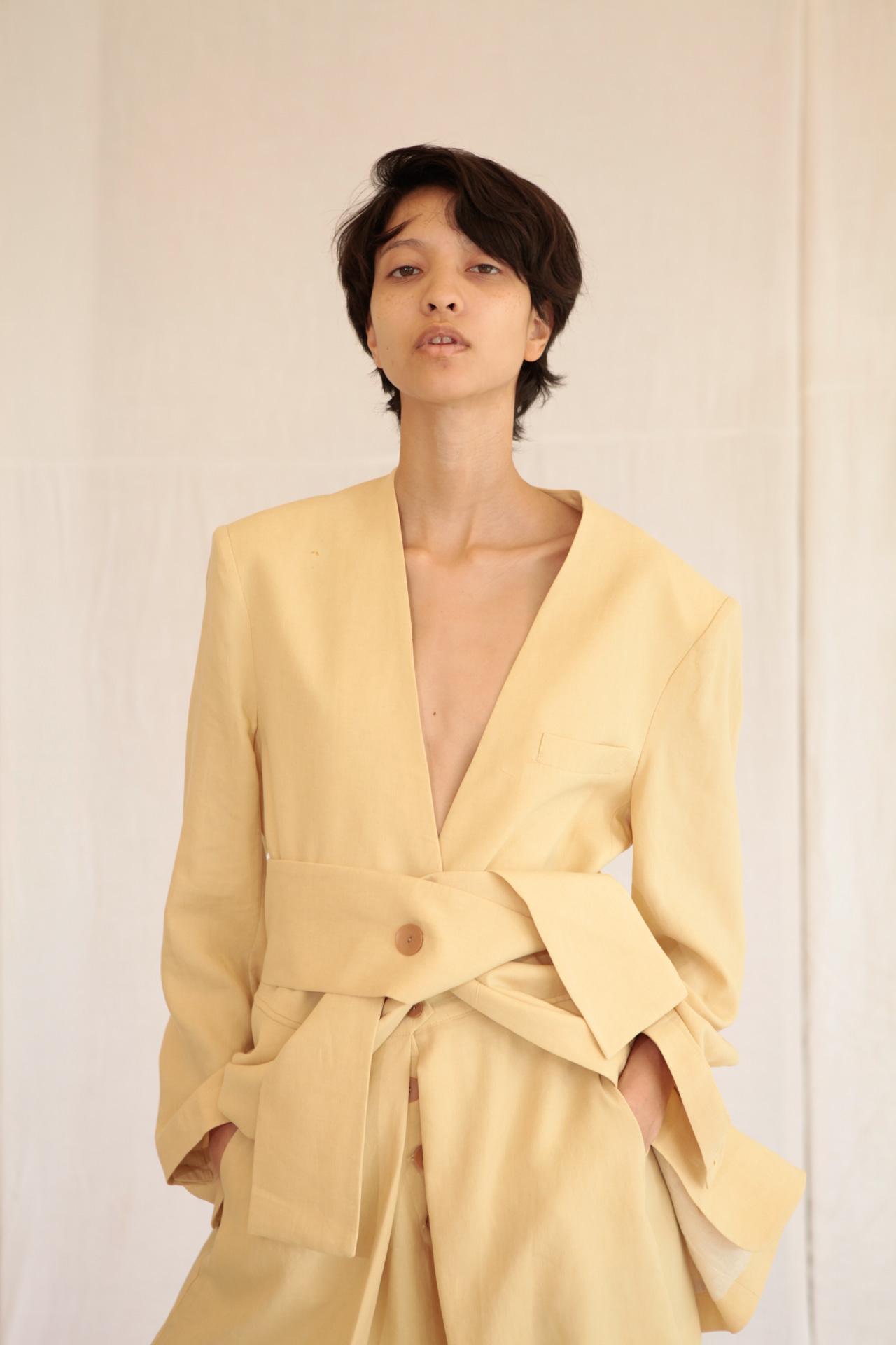 Bitgoeul Linen Jacket