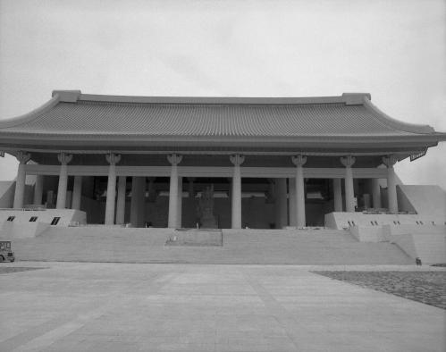 86년 독립기념관 개관전 모습