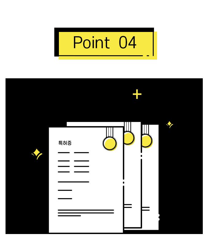 포인트4. 다수의 특허