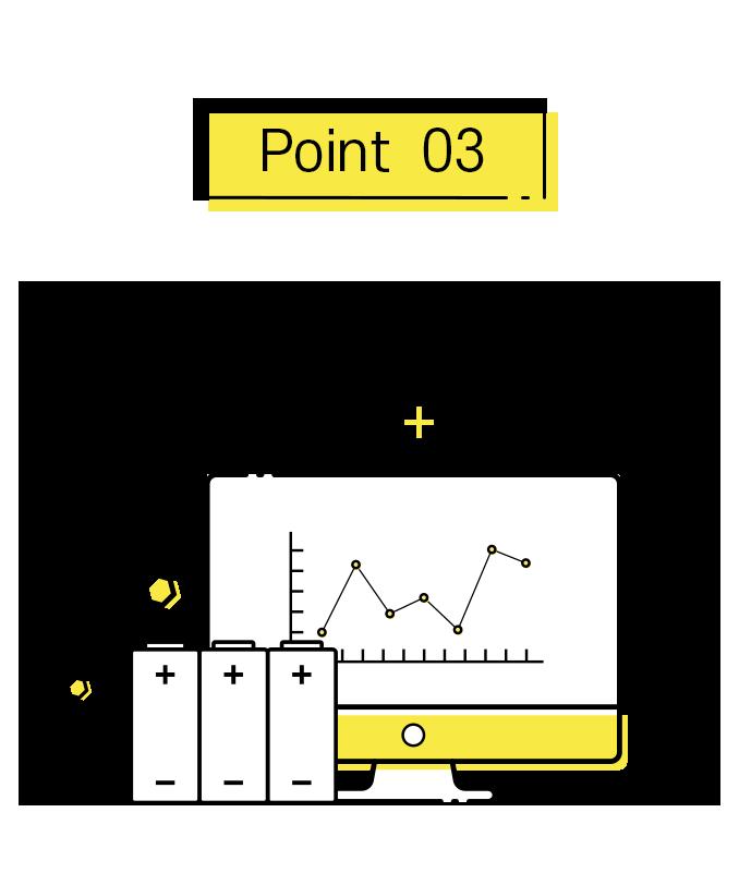포인트3. 지속적인 배터리 검수