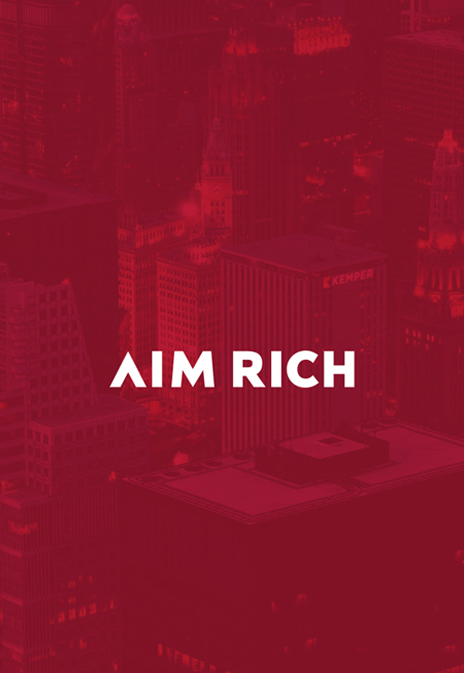 <strong>AIM RICH</strong><br><br>PC&MOBILE RESPONSIVE DESIGN