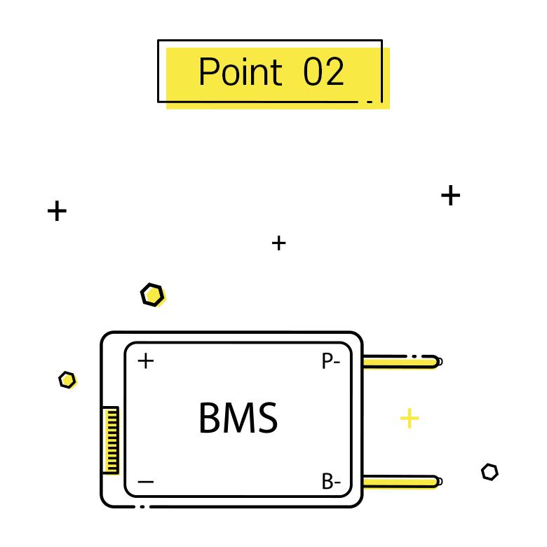 포인트2, 고성능 BMS 사용