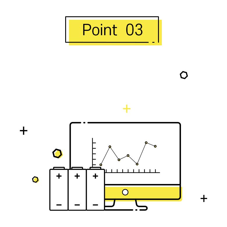 포인트3, 지속적인 배터리팩 안전검사