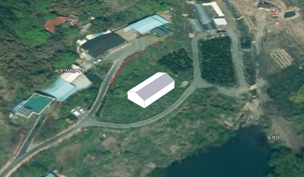 전원주택 짓기(단면, 양면, 평지붕, 돔형 가능)