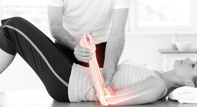 골절부위 통증