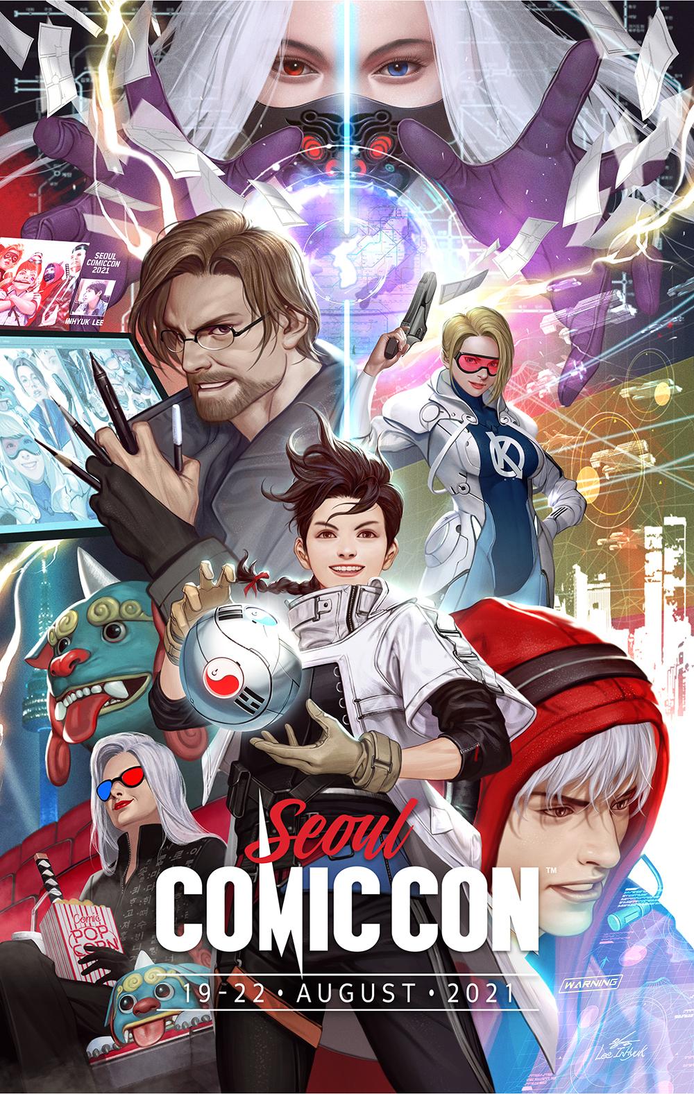 Seoul Comic Con Poster