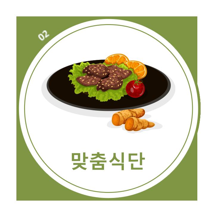평균390kcal 미만의 식단으로 25종의 매일 다른 메뉴로 구성된 건강한 식단이 제공됩니다.