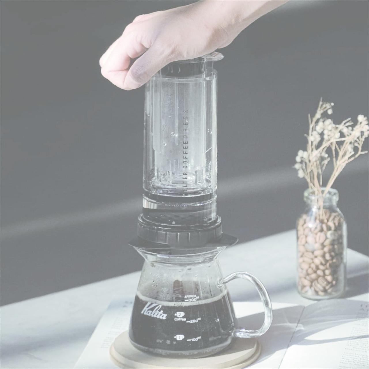 <b>DELTER<br>COFFEE<br>PRESS</b>
