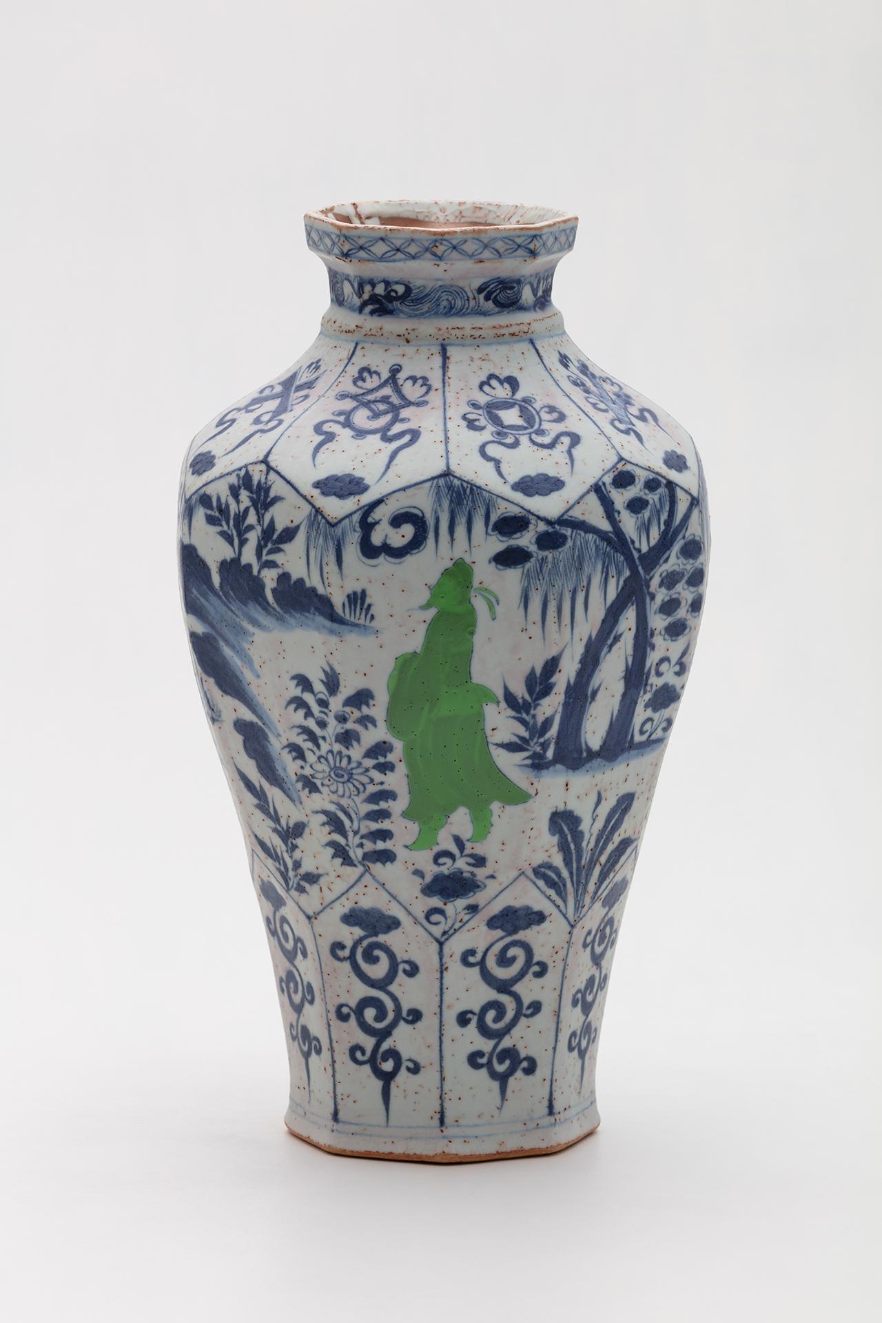Yoo Eui Jeong / CM-001 / Ceramic, Glaze / 25x25x44(h)cm