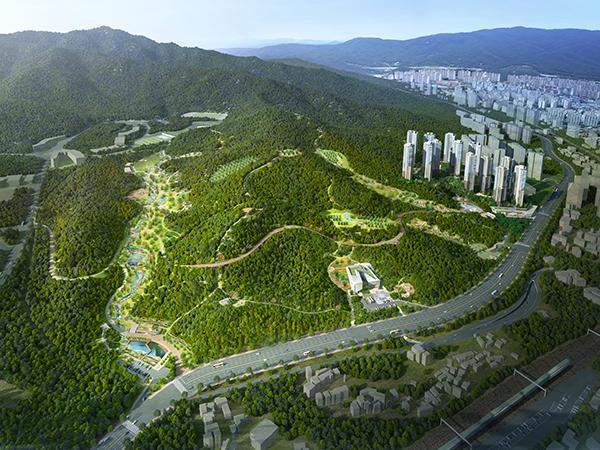 부산사상공원 민간공원 특례사업