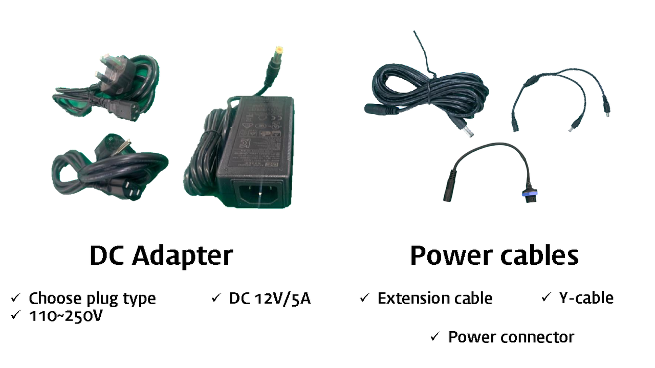 weclean-e type : power supply