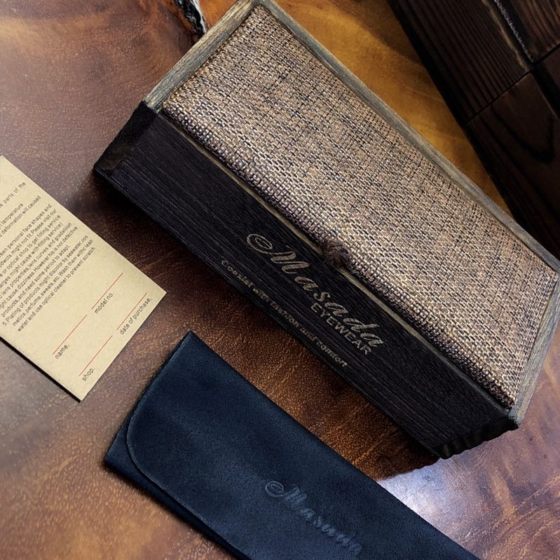 Wooden DP Case
