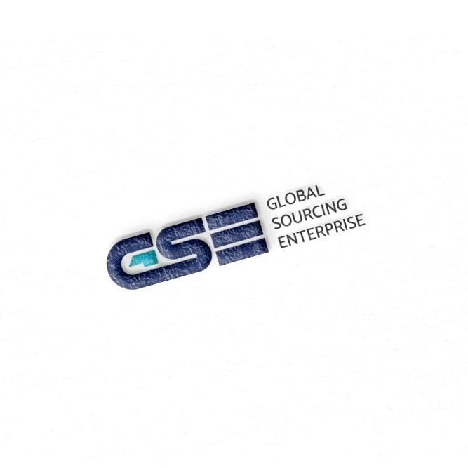 GSE 글로벌소싱 엔터테인먼트 로고 디자인