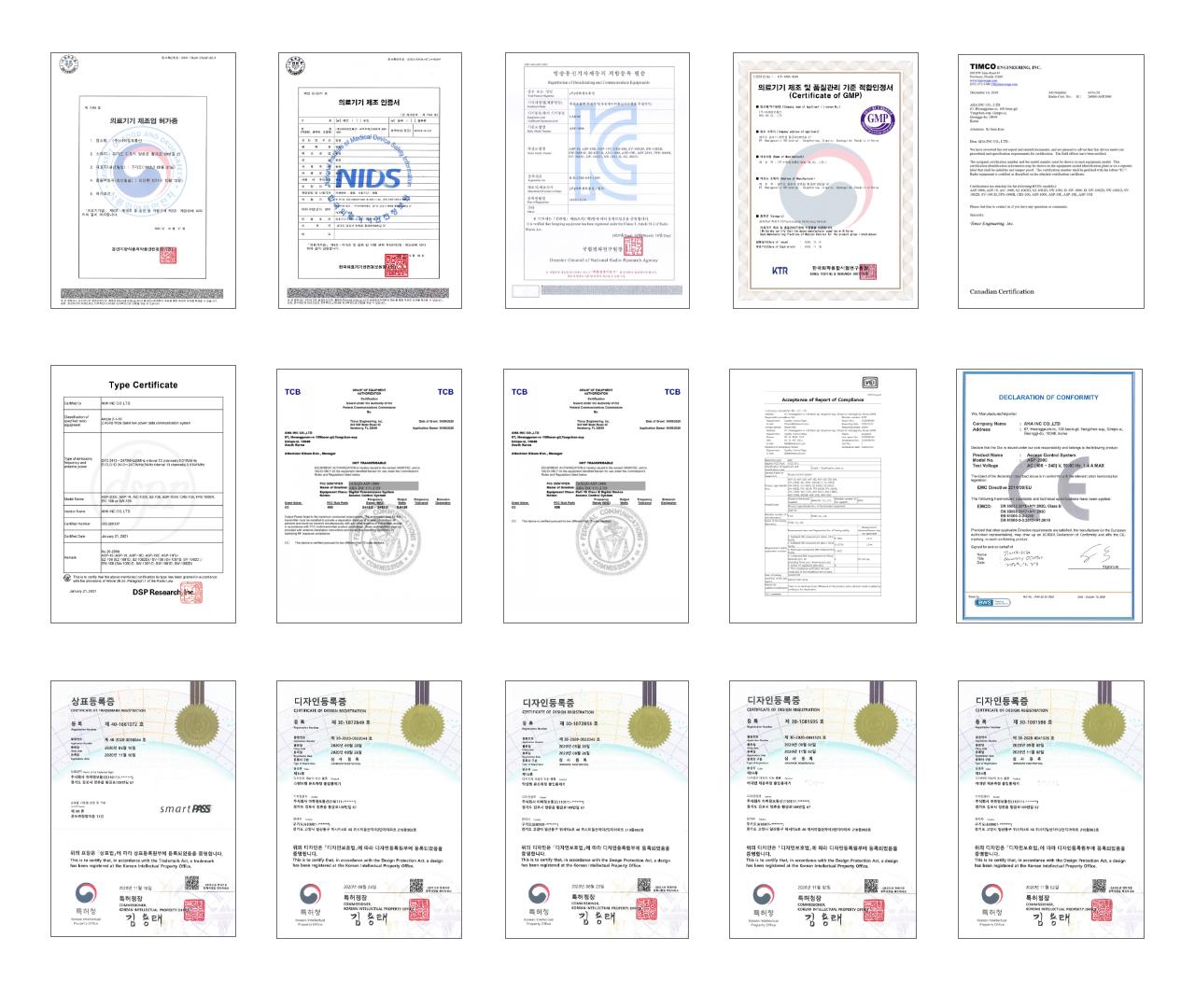 의료기기 인증서, 의료기기 제조 인증서