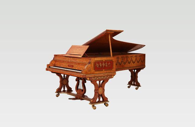 Custom Designed John Broadwood & Sons Concert Grand Piano