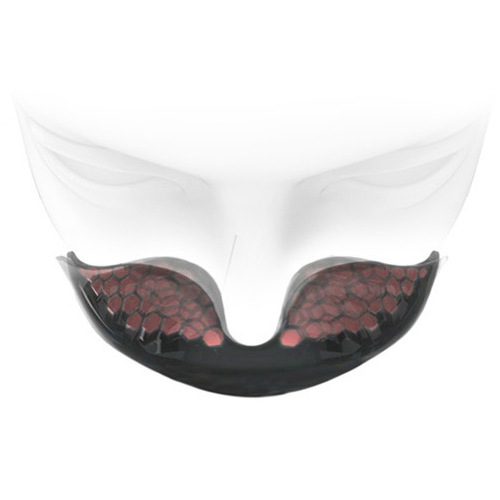 Nosepiece that completely wraps around and prevents pollutant