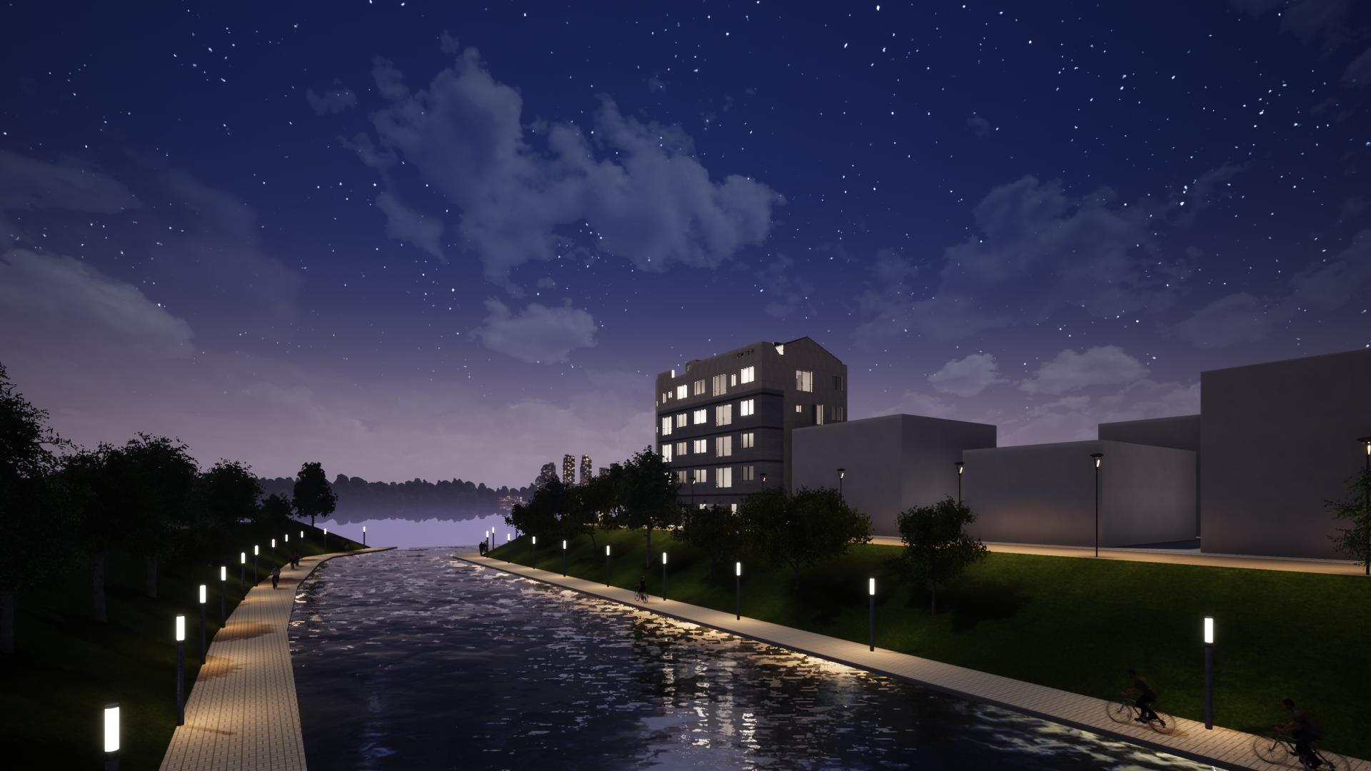 부림동 프로젝트 3D 랜더링