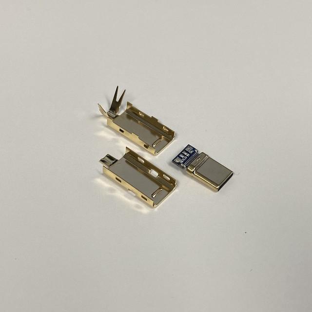 타이니그램 커스텀 케이블 - USB C 타입 골드 커넥터 (Tinygram Custom Cables - USB Type-C Gold Connector)
