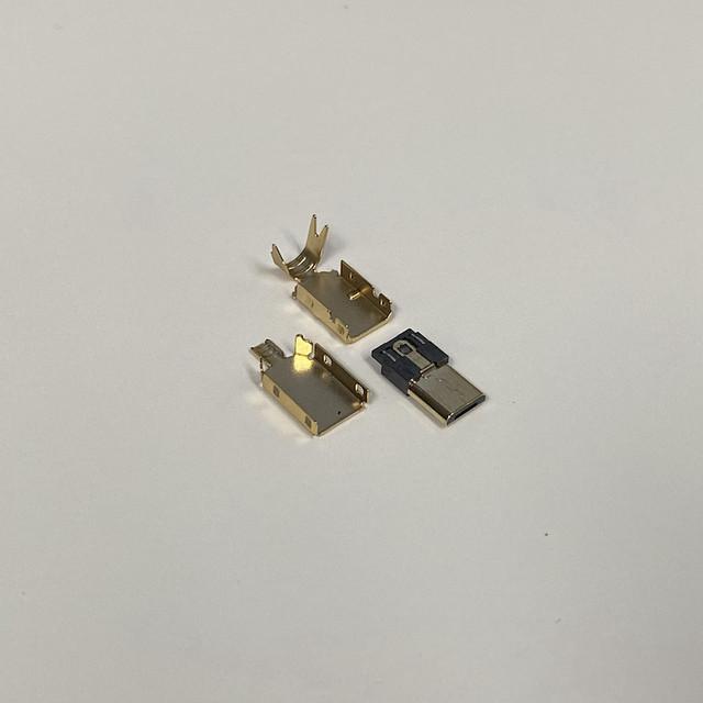 타이니그램 커스텀 케이블 - USB 마이크로-B 타입 골드 커넥터 (Tinygram Custom Cables - USB Micro-B Type Gold Connector)