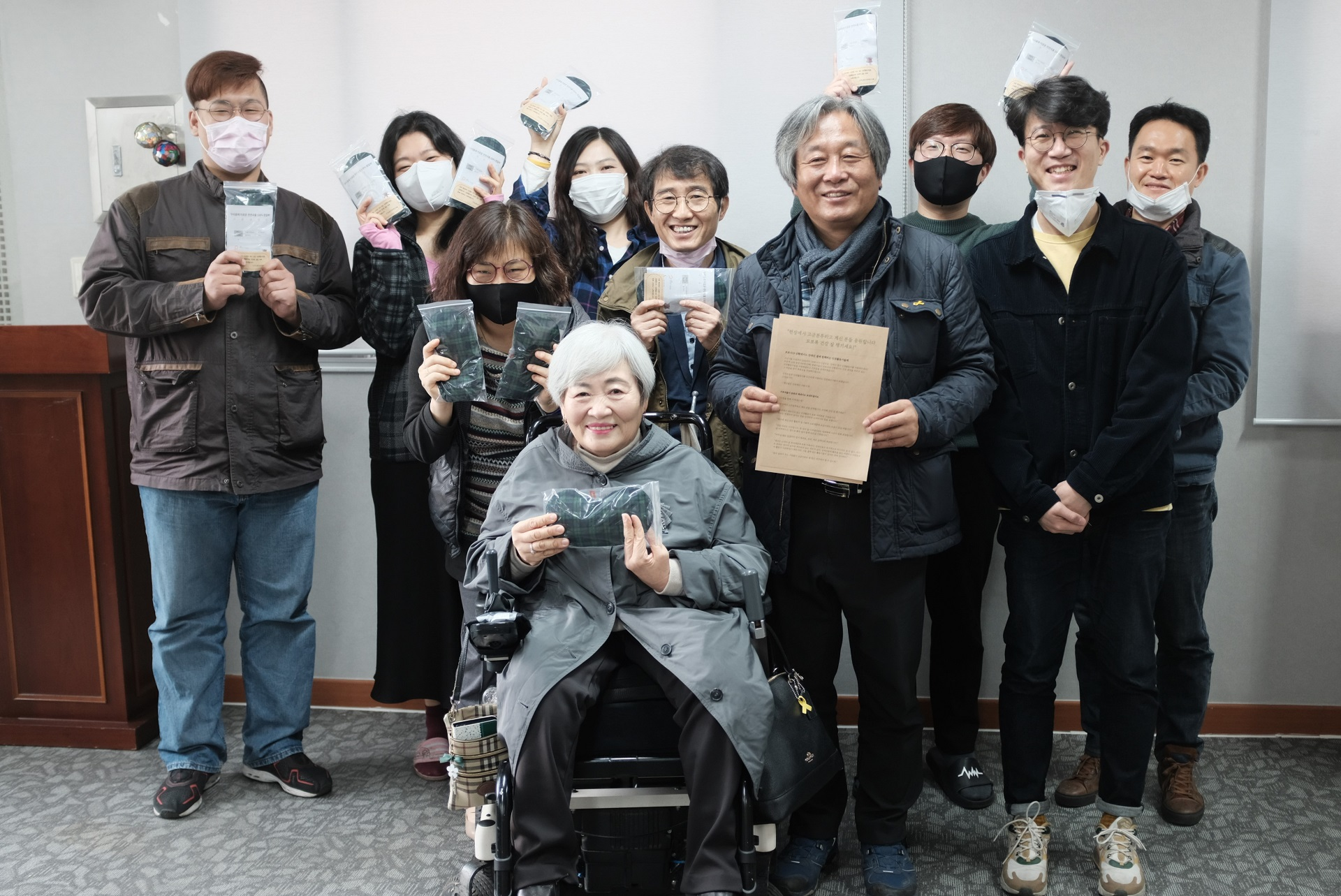 대구 장애인권 활동가들과 함께
