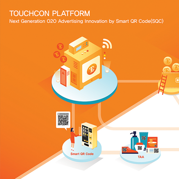 """<p style=""""text-align:left""""><span style=""""color:#212121; font-size:14px"""">TouchCon</span><br><span style=""""color:#999; font-size:12px"""">The TouchCon is a platform that creates mutual benefits between advertisers and consumers by generating Smart QR Code Ad contents<br>반응형 디자인</span></p>"""