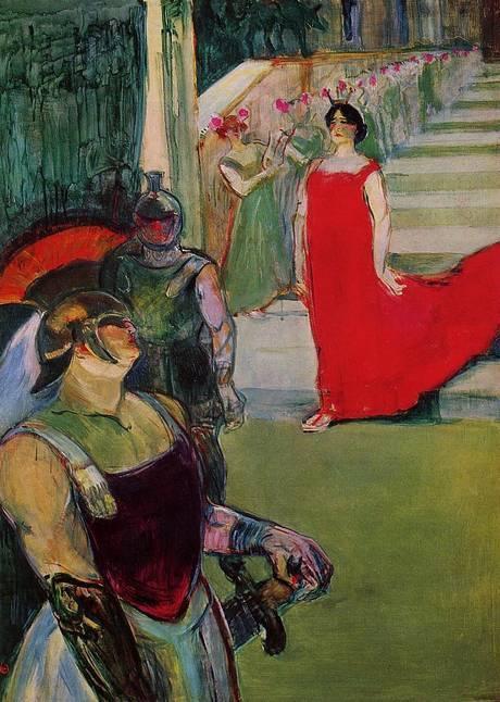 Messaline Henri de Toulouse-Lautrec