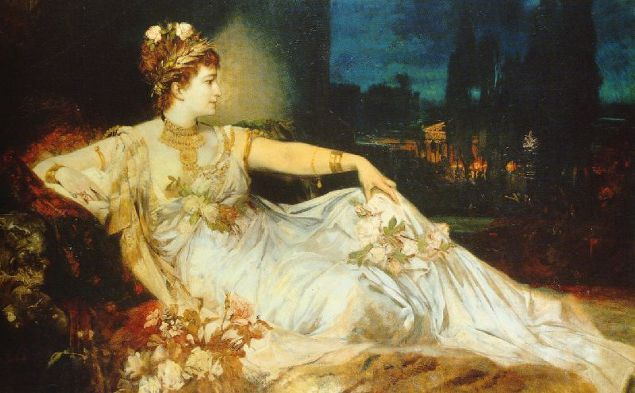 Charlotte Wolter as Messalina