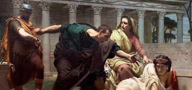 메살리나의 죽음 La morte di Valeria Messalina, V.Biennoury
