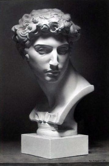 Julien plaster statue