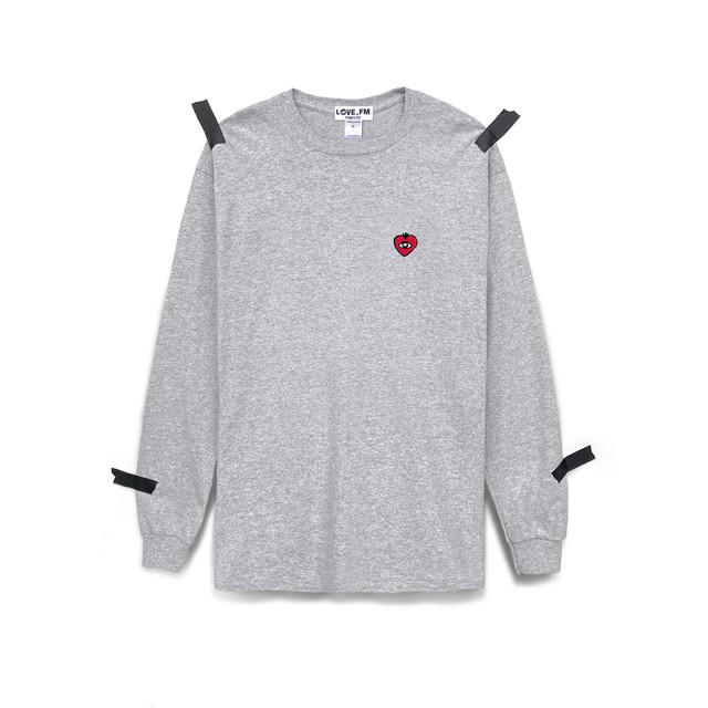 LOVE_FM LONG SLEEVE grey