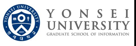 YONSEI UNIV. ISi Lab