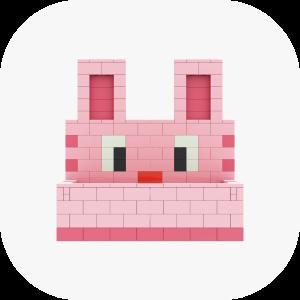 토끼 / 핑크