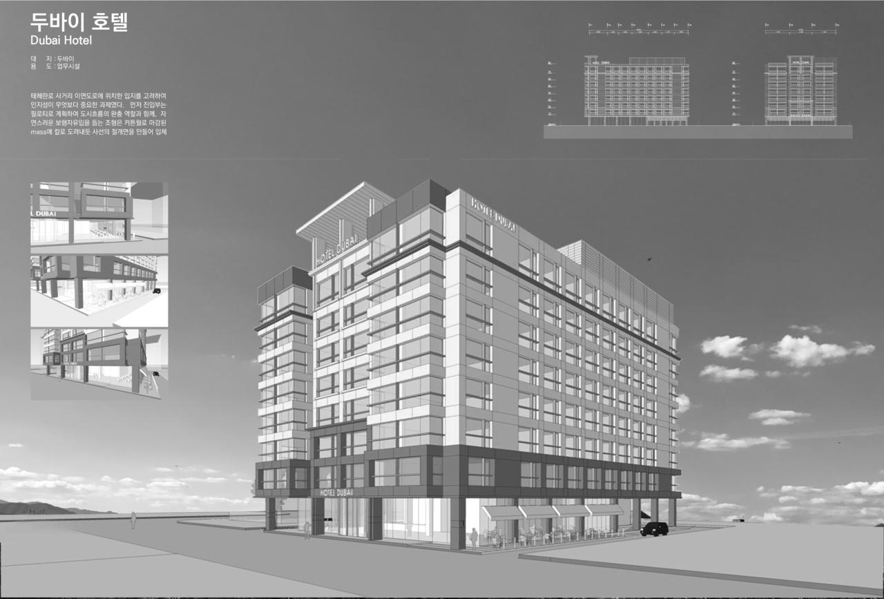 UAE Silgo Group 두바이 호텔 개발사업 디자인