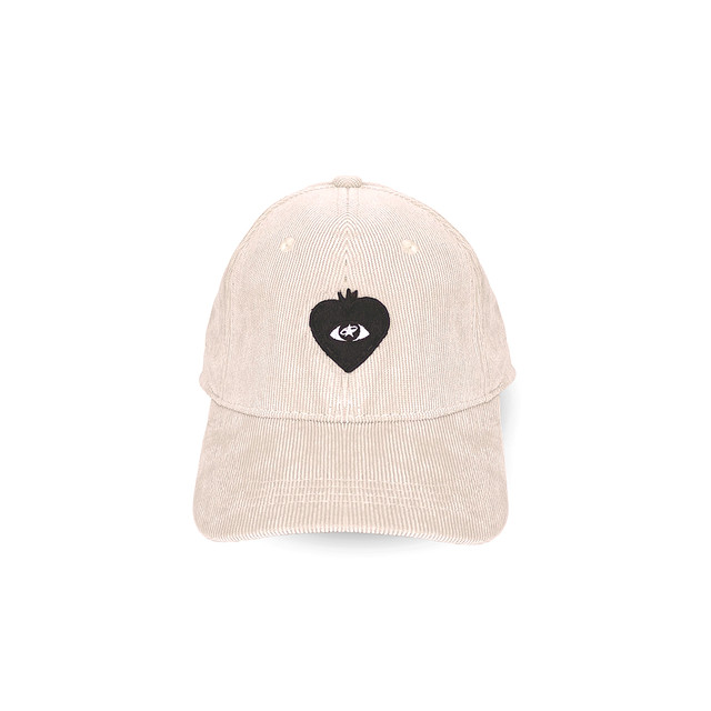 LOVE FM BALL CAP beige