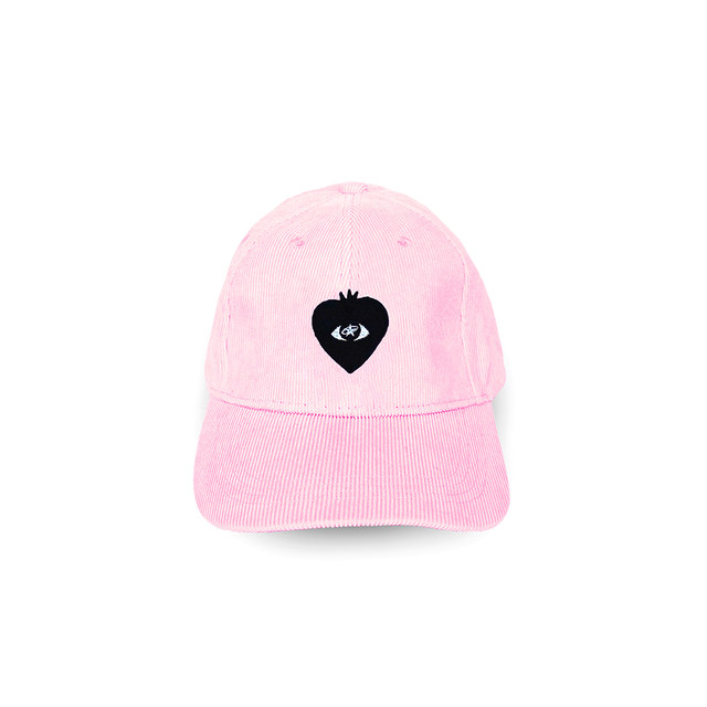 LOVE FM BALL CAP pink