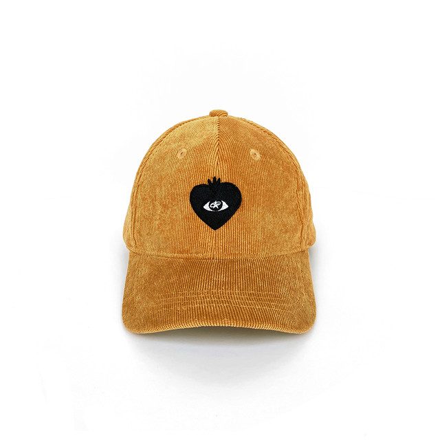 LOVE FM BALL CAP camel