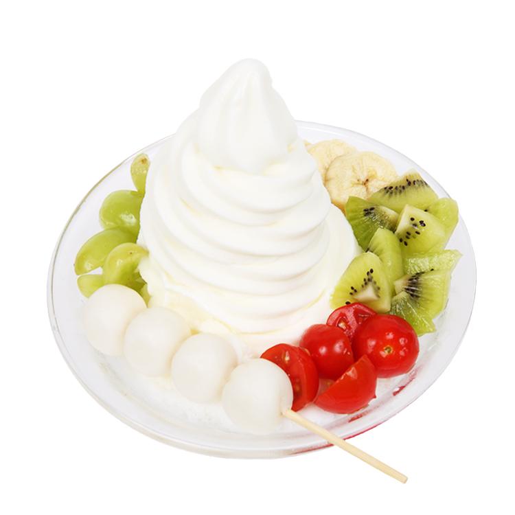 과일 요거트 빙수