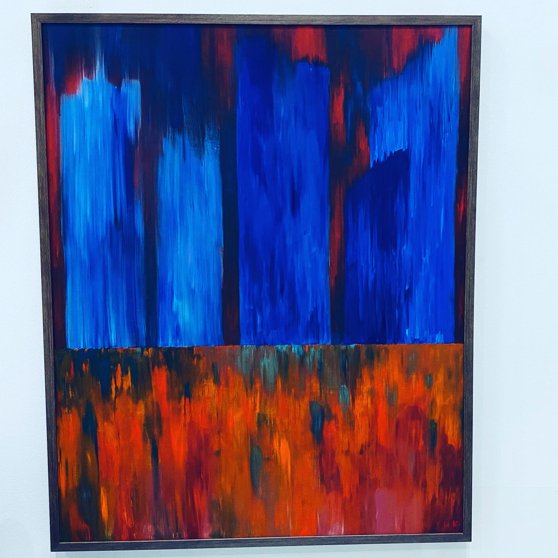 Cityscape, 2020, Oil on canvas