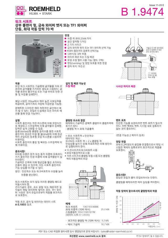 [신제품소개] 저압용 워크 서포트
