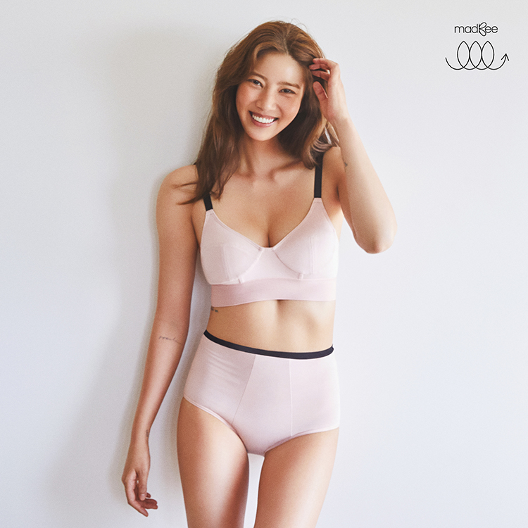 madBee Soft fit set bra+briefs