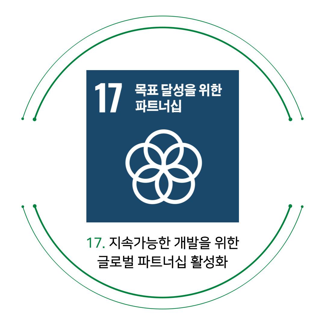 17. 지속가능한 개발을 위한 글로벌 파트너십 활성화