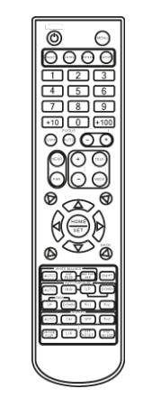 IR Remote Control for PTZ cameras