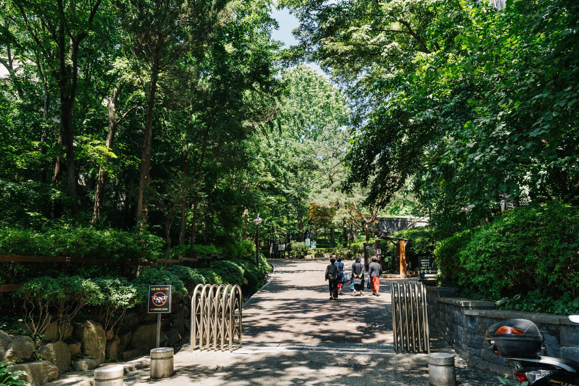 삼청공원 갤러리