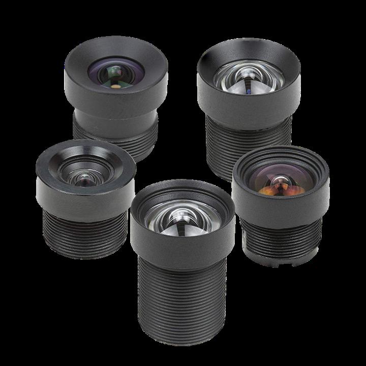 Optional Lenses (3.6 ~ 25mm)