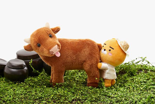 RYAN 牛年 限定娃娃
